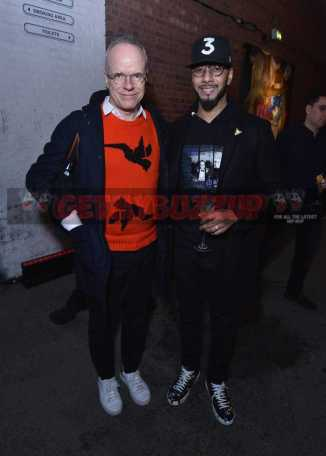 LONDON, ENGLAND - DECEMBER 08: Hans Ulrich Obrist Swizz Beatz attend The Dean Collection X Bacardi Present No Commission: London on December 8, 2016 in London, England. (Photo by David M. Benett/Dave Benett/Getty Images for Getty Images) *** Local Caption *** Swizz Beatz; Hans Ulrich Obrist