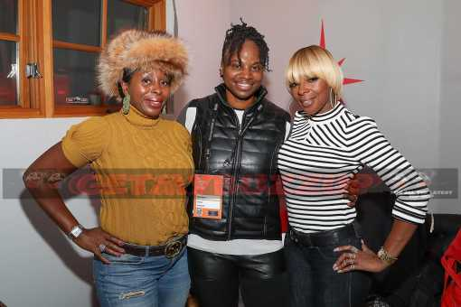 "Celeb Sightings: Mary J. Blige and Jason Mitchell Celebrate ""Mudbound"" at the Stella Artois Filmmaker Lounge at Sundance! [Photos]"