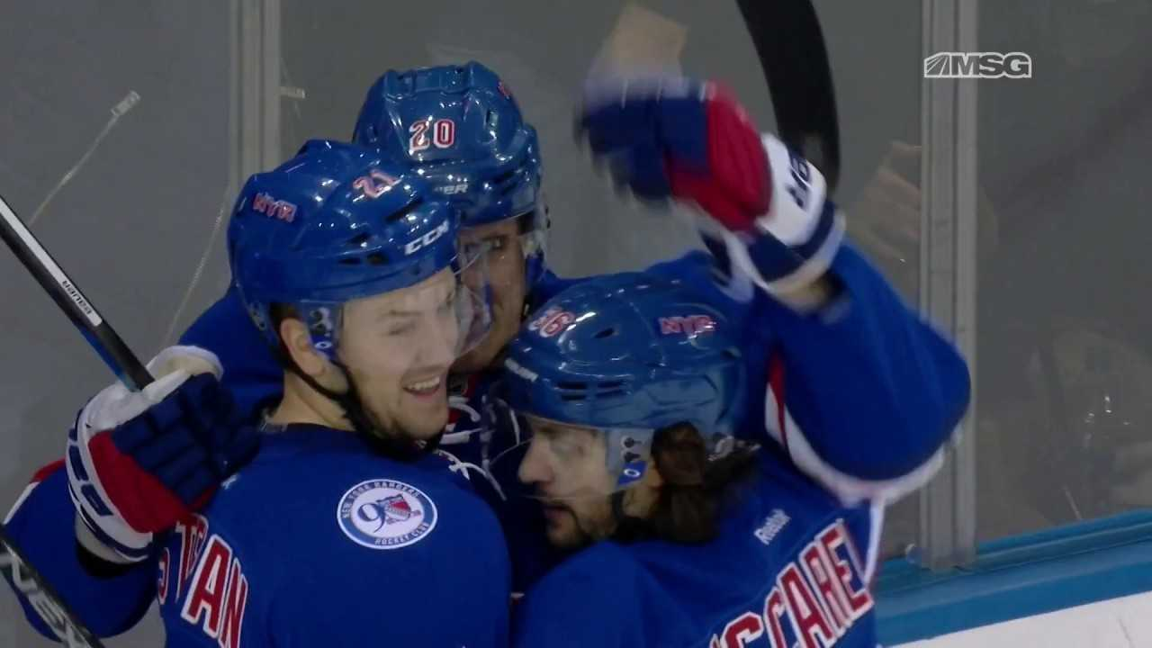 A Closer Look at How the Rangers Scored Their First Goal