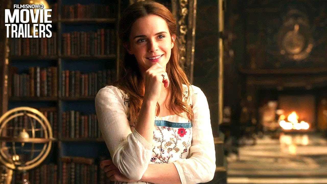 Beauty & The Beast - Emma Watson & Dan Stevens Happy New Year Greeting