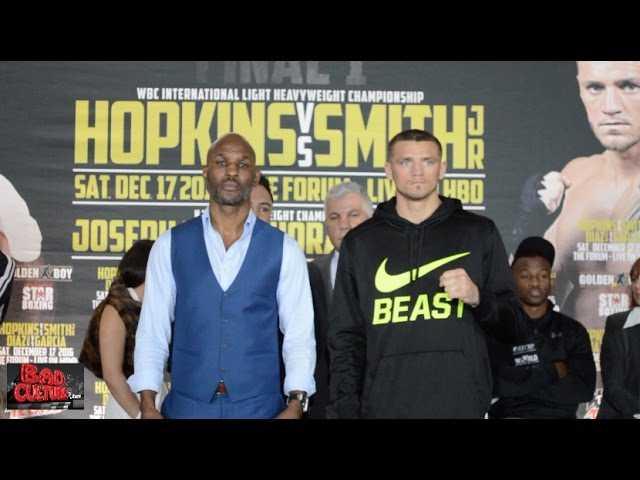 "Bernard Hopkins vs. Joe Smith ""The Final One"" Press Conference in LA"