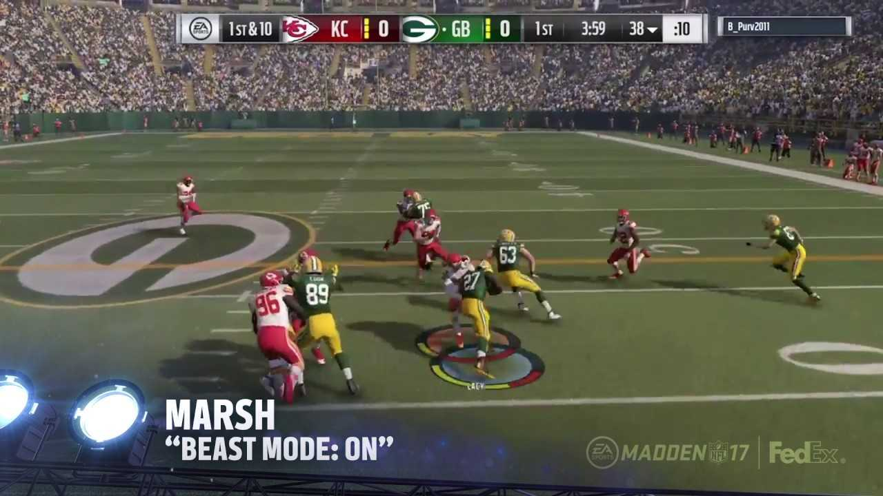 Madden 17 Gameplay | Plays of the Week 17
