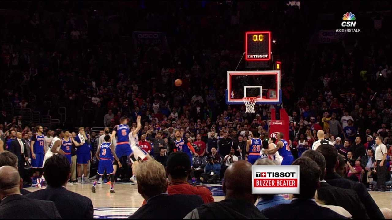 Tissot Buzzer Beater: T.J. McConnell Turnaround Jumper to Beat Knicks   01.11.17