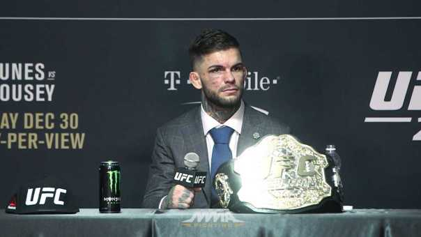 UFC 207 Post-Fight Press Conference: Cody Garbrandt