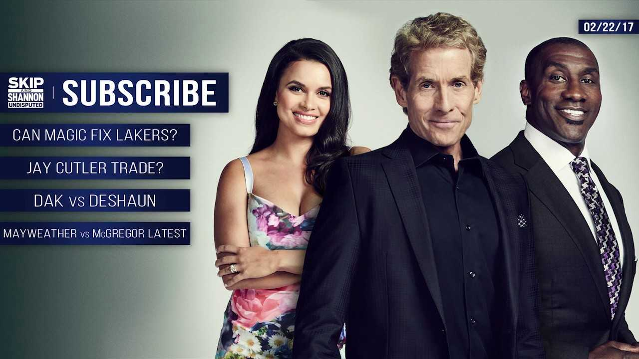UNDISPUTED Audio Podcast (2.22.17) with Skip Bayless, Shannon Sharpe, Joy Taylor | UNDISPUTED