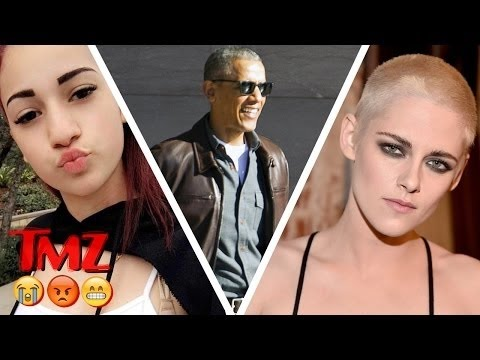 Cops called on CASH ME OUSSIDE girl, Cool Obama, and Kristen Stewart's buzz cut   TMZ BUZZ
