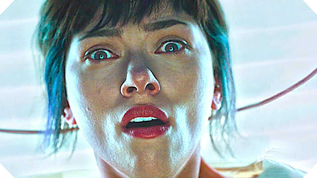 GHOST IN THE SHELL New TRAILER + Clip (Scarlett Johansson, 2017)