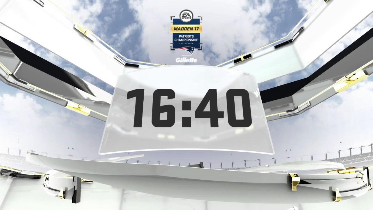 Madden 17 Club Series - Patriots Championship