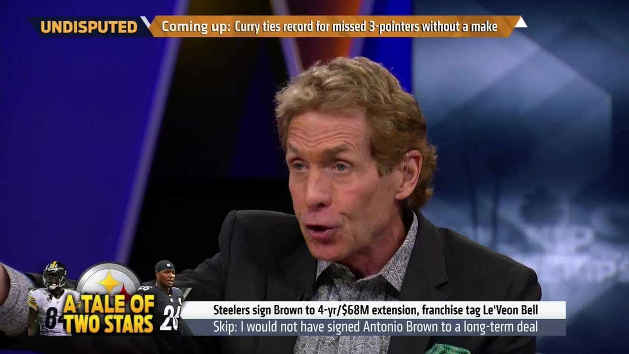 Skip Bayless: The Steelers shouldn't have signed Antonio Brown   UNDISPUTED