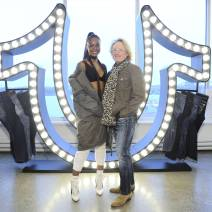 Justine Skye, John Ermitanger== True Religion Fall 2017 Preview== Milk Studios, NYC== March 30, 2017== ©Patrick McMullan== Photo - Owen Hoffmann/PMC== ==