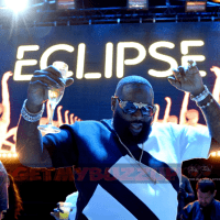 Celeb Sightings: Rick Ross Lights Up Daylight Beach Club For The Infamous Eclipse Party [Photos]