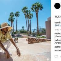 Kendrick Lamar Live Lavish Courtesy of Airbnb [Photos]