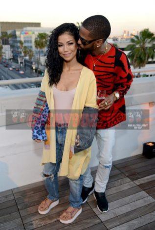 Jhené Aiko and Big Sean