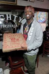-New York, NY - 8/25/17- Yachty`s Pizzeria -PICTURED: Lil Yachty -PHOTO by: Startraksphoto.com -BDP_9225 Editorial - Rights Managed Image - Please contact www.startraksphoto.com for licensing fee Startraks Photo New York, NY For licensing please call 212-414-9464 or email sales@startraksphoto.com Image may not be published in any way that is or might be deemed defamatory, libelous, pornographic, or obscene. Please consult our sales department for any clarification or question you may have. Startraks Photo reserves the right to pursue unauthorized users of this image. If you violate our intellectual property you may be liable for actual damages, loss of income, and profits you derive from the use of this image, and where appropriate, the cost of collection and/or statutory damages.