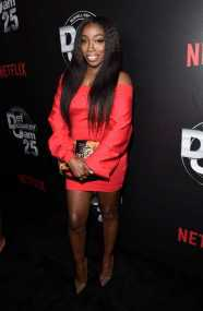 Estelle arrives at Def Comedy Jam 25, A Netflix Original Comedy Event, in Beverly Hills on Sunday September 10th.