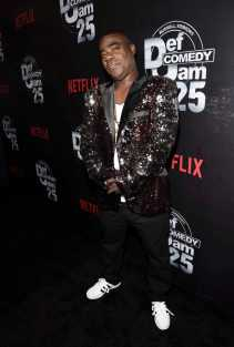 Tracy Morgan arrives at Def Comedy Jam 25, A Netflix Original Comedy Event, in Beverly Hills on Sunday September 10th.