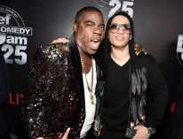 Tracy Morgan and Kid Capri arrives at Def Comedy Jam 25, A Netflix Original Comedy Event, in Beverly Hills on Sunday September 10th.