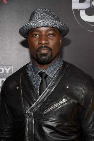 Mike Colter arrives at Def Comedy Jam 25, A Netflix Original Comedy Event, in Beverly Hills on Sunday September 10th.