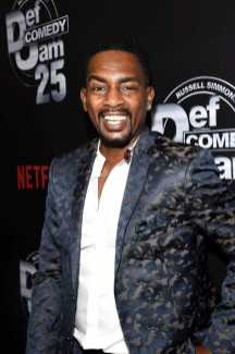Bill Bellamy arrives at Def Comedy Jam 25, A Netflix Original Comedy Event, in Beverly Hills on Sunday September 10th.