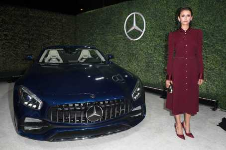 Mandatory Credit: Photo by Chelsea Lauren/Variety/REX/Shutterstock (9064185es) Nina Dobrev Variety and Women in Film Emmy Nominee Celebration sponsored by Mercedes Benz, Los Angeles, USA - 15 Sep 2017
