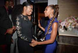 Mandatory Credit: Photo by Andreas Branch/Variety/REX/Shutterstock (9064182ch) Gabrielle Union and Ryan Michelle Bathe Variety and Women in Film Emmy Nominee Celebration, Inside, Los Angeles, USA - 15 Sep 2017