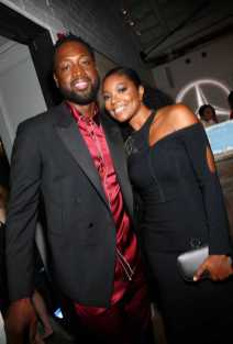 Mandatory Credit: Photo by Katie Jones/Variety/REX/Shutterstock (9064183ac) Dwyane Wade and Gabrielle Union Variety and Women in Film Emmy Nominee Celebration, Inside, Los Angeles, USA - 15 Sep 2017