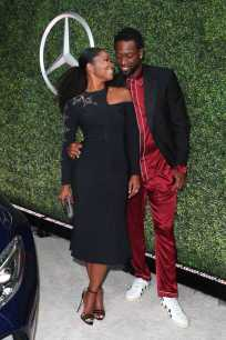 Mandatory Credit: Photo by Chelsea Lauren/Variety/REX/Shutterstock (9064185cs) Gabrielle Union and Dwyane Wade Variety and Women in Film Emmy Nominee Celebration sponsored by Mercedes Benz, Los Angeles, USA - 15 Sep 2017