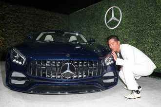 Mandatory Credit: Photo by Chelsea Lauren/Variety/REX/Shutterstock (9064185d) Leonardo Nam Variety and Women in Film Emmy Nominee Celebration sponsored by Mercedes Benz, Los Angeles, USA - 15 Sep 2017