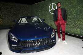Mandatory Credit: Photo by Chelsea Lauren/Variety/REX/Shutterstock (9064185ed) Dwyane Wade Variety and Women in Film Emmy Nominee Celebration sponsored by Mercedes Benz, Los Angeles, USA - 15 Sep 2017