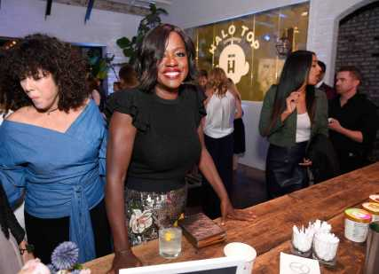 Mandatory Credit: Photo by Stewart Cook/Variety/REX/Shutterstock (9064188x) Viola Davis Variety and Women in Film Emmy Nominee Celebration sponsored by Halo Top, Los Angeles, USA - 15 Sep 2017