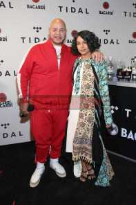 NEW YORK, NY - OCTOBER 17: Fat Joe (L) and Princess Nokia attend the TIDAL X benefit concert powered by BACARDI and hosted by Fat Joe at Barclays Center of Brooklyn on October 17, 2017 in New York City. (Photo by Monica Schipper/Getty Images for BACARDI) *** Local Caption *** Fat Joe;Princess Nokia