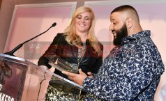 Mandatory Credit: Photo by Rob Latour/Variety/REX/Shutterstock (9228565ba) Alissa Pollack and DJ Khaled Variety Hitmakers Brunch, Inside, Los Angeles, USA - 18 Nov 2017