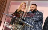 Mandatory Credit: Photo by Rob Latour/Variety/REX/Shutterstock (9228565bb) Alissa Pollack and DJ Khaled Variety Hitmakers Brunch, Inside, Los Angeles, USA - 18 Nov 2017
