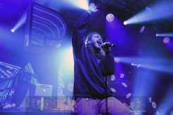 NEW YORK, NY - DECEMBER 05: Post Malone performs at Pandora Sounds Like You: 2017 on December 5, 2017 in New York City. (Photo by Theo Wargo/Getty Images for Pandora)