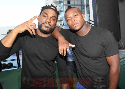 MIAMI BEACH, FL - DECEMBER 08: DJ STEVIE J (L) and O.T. Genasis attend The House Of Remy Martin Presents The MVP Experience In Miami at W South Beach on December 8, 2017 in Miami Beach, Florida. (Photo by Johnny Nunez/Getty Images for Remy Martin)