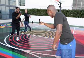 MIAMI BEACH, FL - DECEMBER 08: (L-R) DJ STEVIE J , Matt W. Moore and O.T. Genasis attend The House Of Remy Martin Presents The MVP Experience In Miami at W South Beach on December 8, 2017 in Miami Beach, Florida. (Photo by Johnny Nunez/Getty Images for Remy Martin)
