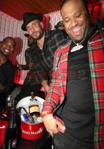 NEW YORK, NY - JANUARY 27: (L-R) Ne-Yo, DJ Drama and DJ Don Cannon attend The House Of Remy Martin Presents The Culture Creators Pre-Grammy Party at Megu New York on January 27, 2018 in New York City. (Photo by Johnny Nunez/Getty Images for Remy Martin)
