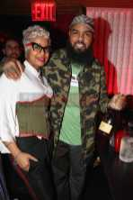 NEW YORK, NY - JANUARY 27: Monifah (L) and Stalley attends The House Of Remy Martin Presents The Culture Creators Pre-Grammy Party at Megu New York on January 27, 2018 in New York City. (Photo by Johnny Nunez/Getty Images for Remy Martin)