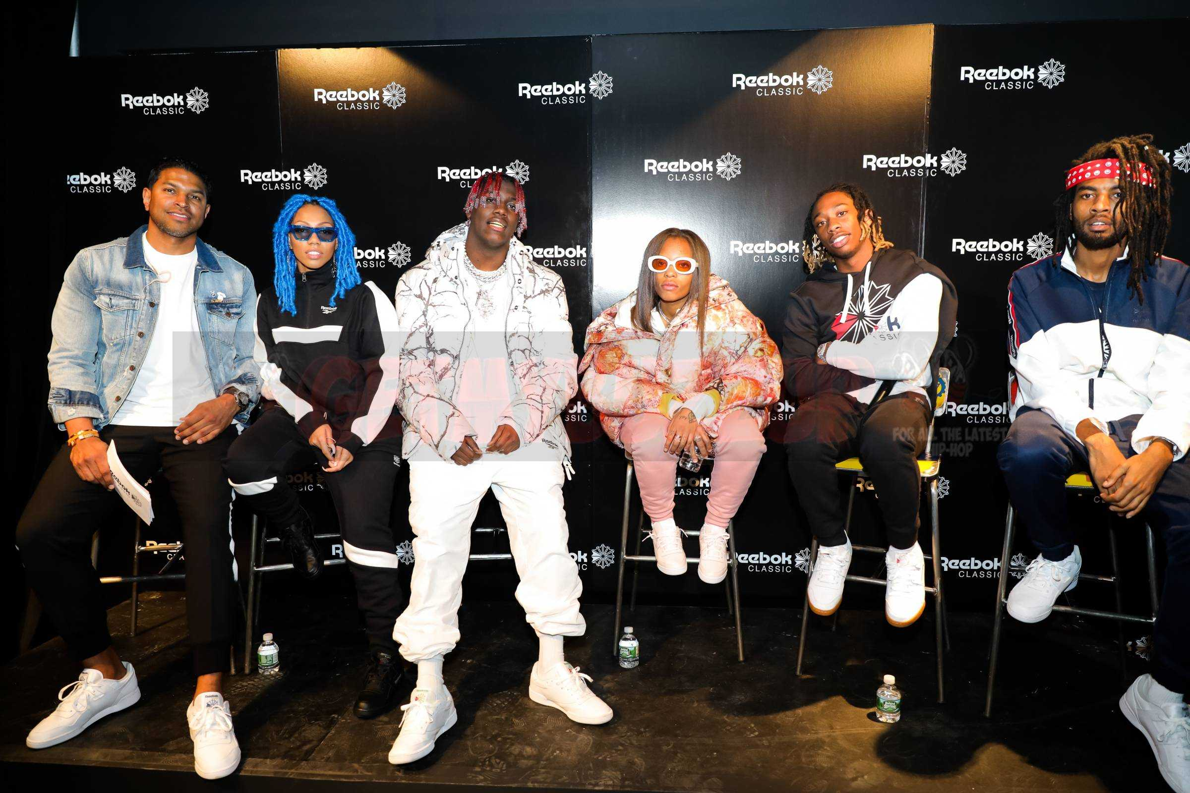 REEBOK CLASSIC UNITES TWO STYLE ICONS - THE WORKOUT PLUS SNEAKER AND LIL YACHTY, WITH AN EPIC EXPERIENCE IN NYC