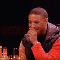 Michael B. Jordan Takes The Hot Ones Spicy Wings Challenge [Video]