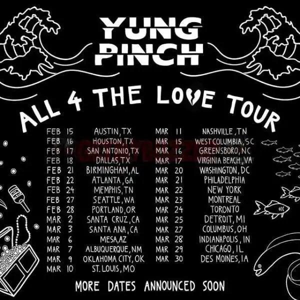 "Yung Pinch - ""Big Checks"" ft. YG (Prod. Richie Souf) [Audio]"
