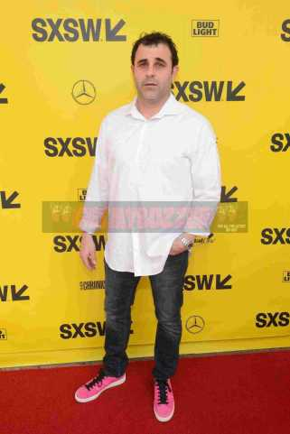 """AUSTIN, TX - MARCH 17: Chris Lopez attends the red carpet premiere of """"Rapture"""" during SXSW 2018 at Paramount Theatre on March 17, 2018 in Austin, Texas. (Photo by Daniel Boczarski/Getty Images for Netflix) *** Local Caption *** Chris Lopez"""