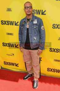"""AUSTIN, TX - MARCH 17: T.I. attends the red carpet premiere of """"Rapture"""" during SXSW 2018 at Paramount Theatre on March 17, 2018 in Austin, Texas. (Photo by Daniel Boczarski/Getty Images for Netflix) *** Local Caption *** T.I."""