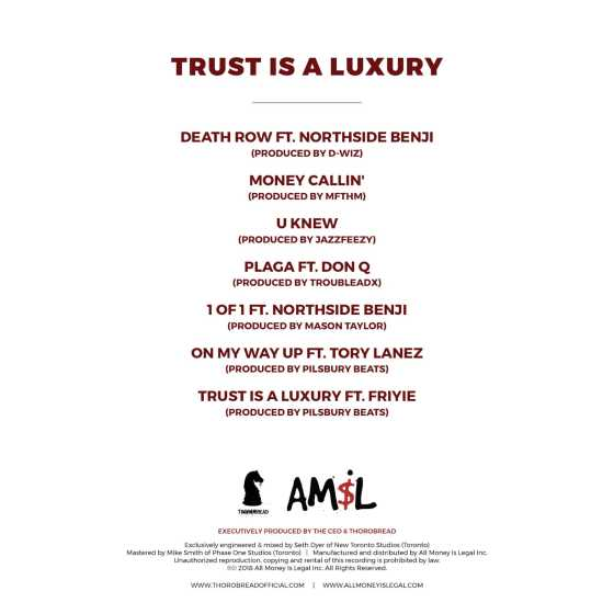 EP Stream: Thorobread  | Trust Is A Luxury [Audio]