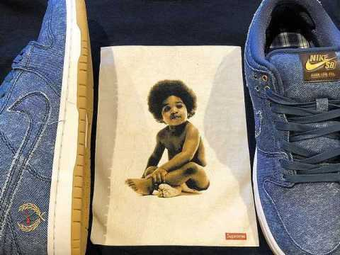 A Full Look at Nike SB's Biggie & 2Pac-Inspired Sneakers