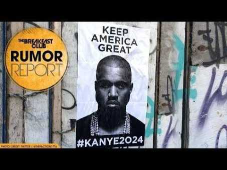 """""""Keep America Great #Kanye2024"""" Posters Pop Up In NYC, Chicago, and LA"""