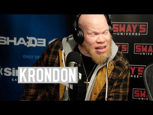 """Marvin """"Krondon"""" Jones III on Starring In Black Lightning and His Rap Career In Strong Arm Steady"""