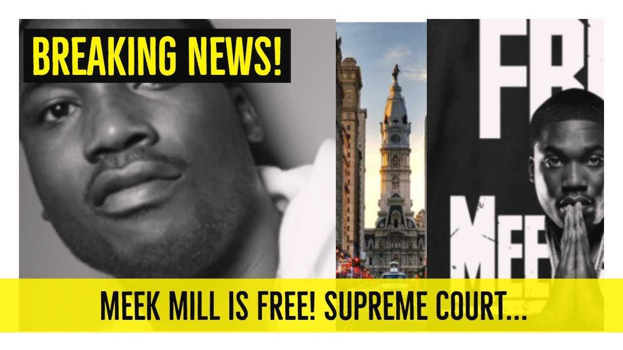 MEEK MILL IS FREE! Supreme Court Stepped In... 'Hold up Wait a Minute'