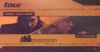 "POST MALONE UNLOCKS PRE-ORDER FOR NEW ALBUM ""Beerbongs & Bentleys"""