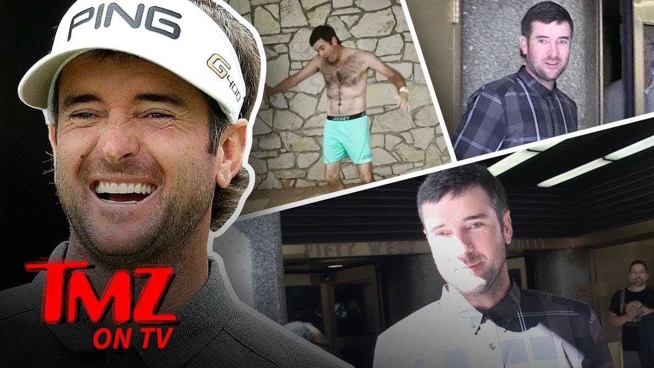 Bubba Watson Talks Weird Golf Moments | TMZ TV